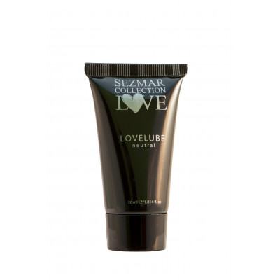 "Lubrificante Naturale Neutro a Base Acquosa ""LOVE LUBE"" - 30 ml"