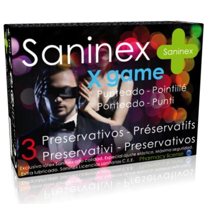 "PROFILATTICI SANINEX ""X GAME"" DOTTED 3 PEZZI"