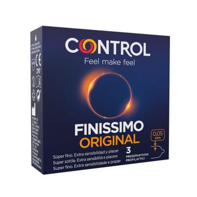 "PROFILATTICI CONTROL ""FINISSIMO"" EXTRA SOTTILI - 3 PEZZI"